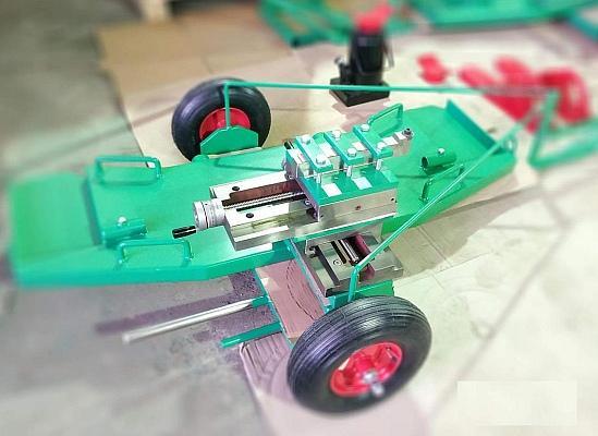 Мобильные колесотокарные станки для обточки колёсных пар вагонов и тепловозов без выкатки