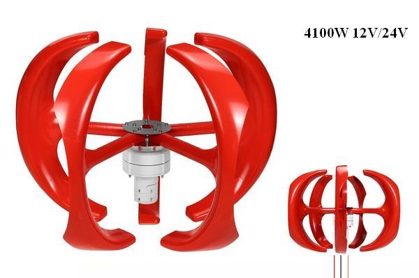 Wind turbine generator 4100W 12/24V