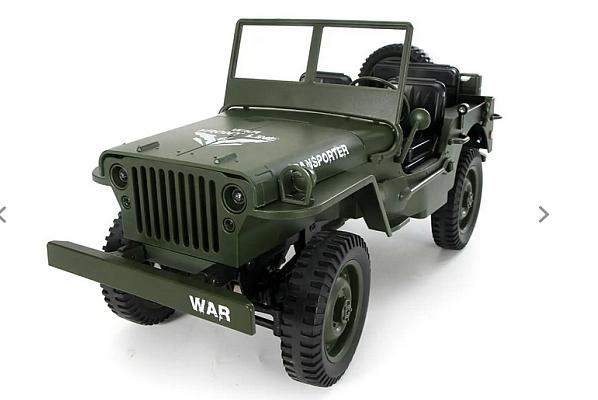 Military Truck 4WD Off-Road RC