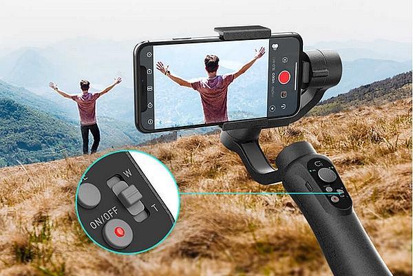 smartphone stabilizer gimbal